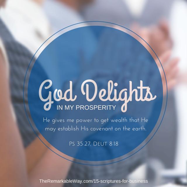 15 Biblical Declarations for the Business Owner | Nicole Gebhardt